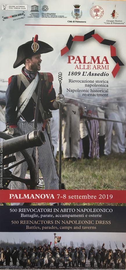 Rievocazione storica napoleonica a Palmanova (UD)